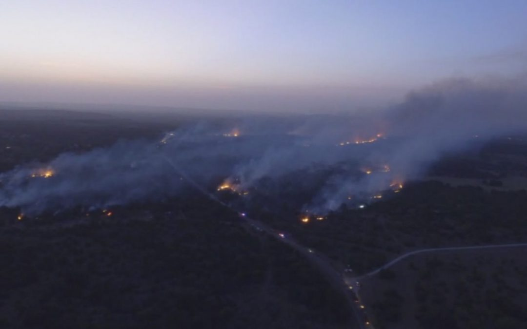 Church offers refuge for exhausted crews battling wildfire