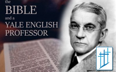 The Bible and a Yale English Professor